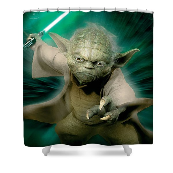 Star Wars Episode II - Attack Of The Clones 2002 Shower Curtain