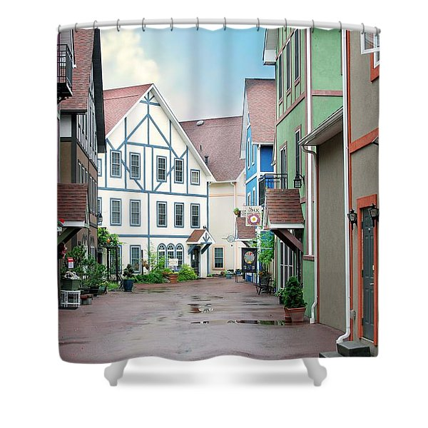 Stoudtburg Village Shower Curtain