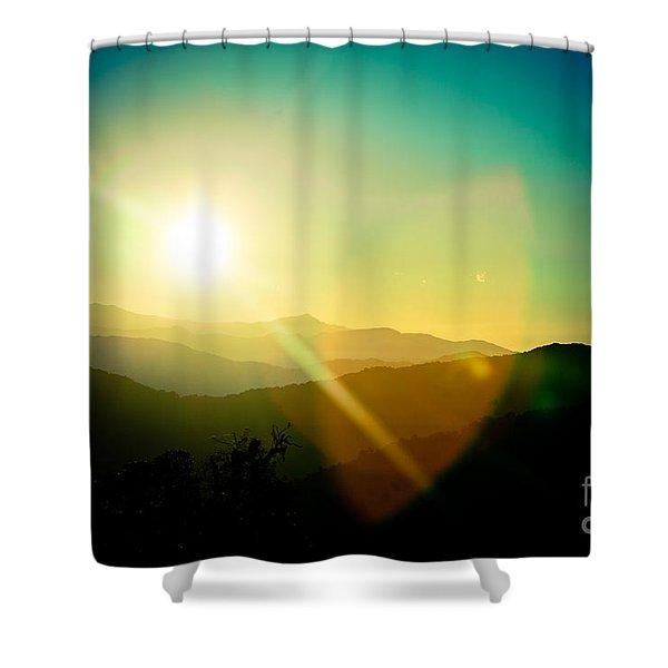 Sunrise In Himalayas Artmif Photo Raimond Klavins Shower Curtain