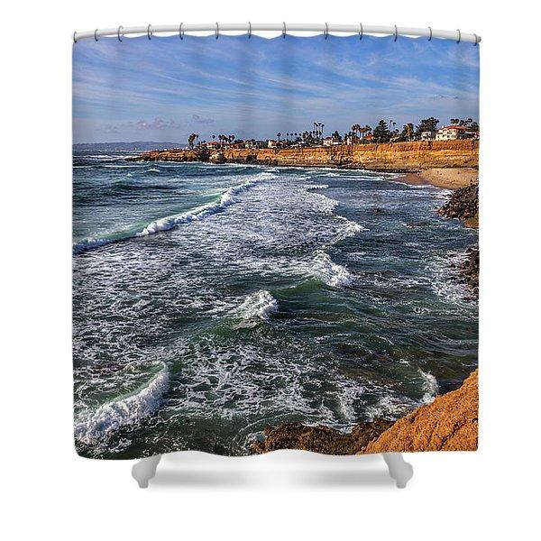 Sunset Cliffs 2 Shower Curtain