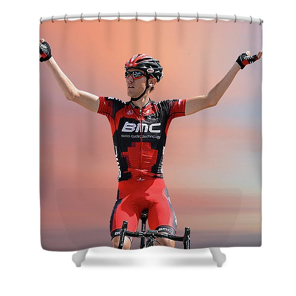 Tejay Van Garderen 3 Shower Curtain