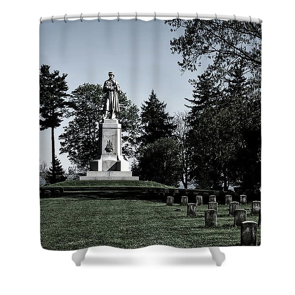 The Private Soldier Monument - Antietam Shower Curtain