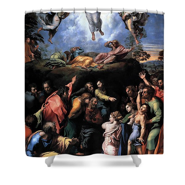 The Transfiguration Shower Curtain