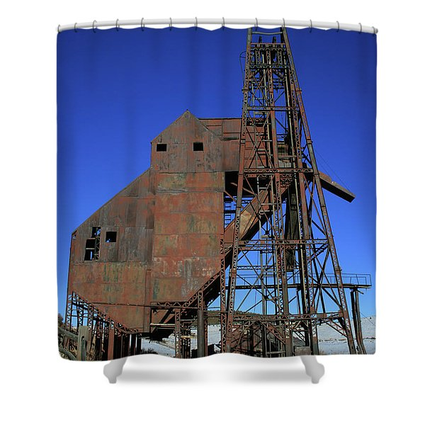 Theresa Mine Shower Curtain