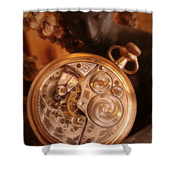 Time... Shower Curtain