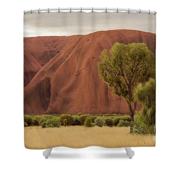 Uluru 08 Shower Curtain
