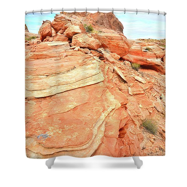 Valley Of Fire High Country Shower Curtain