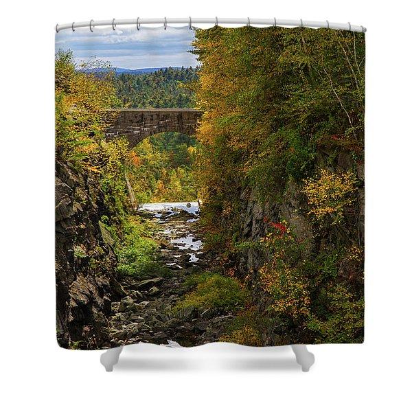 Winsor Dam Bridge Shower Curtain