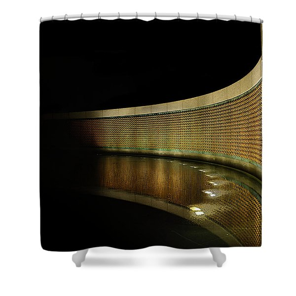 World War II Memorial - Stars Shower Curtain