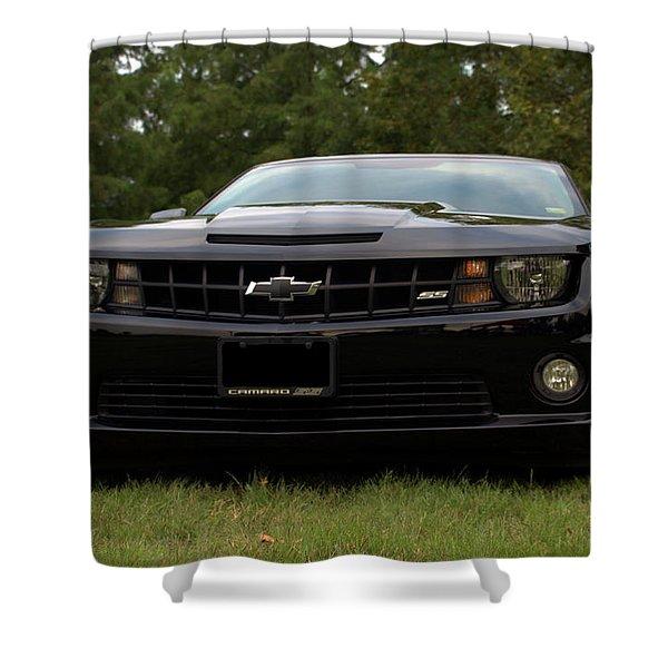 2010 Camaro Ss Shower Curtain