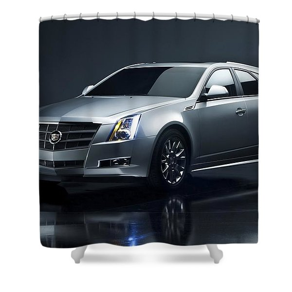 2014 Cadillac Cts Sport Wagon  Shower Curtain
