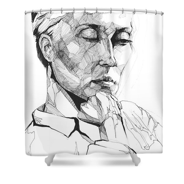 20140109 Shower Curtain