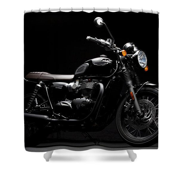 2016 Triumph Bonneville T120 Shower Curtain
