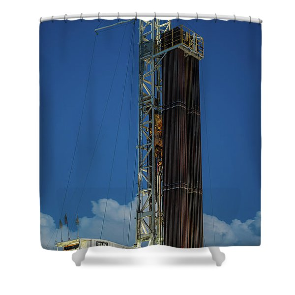 2017_05_midkiff Tx_hp 607 1  Shower Curtain