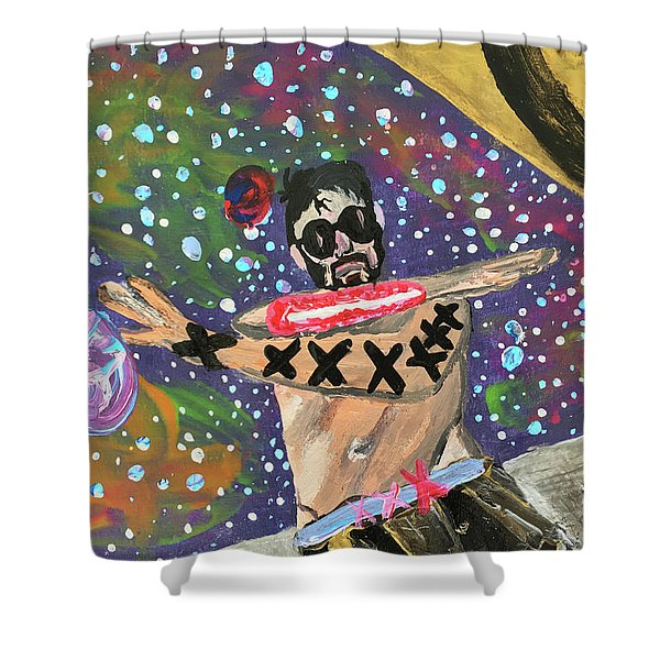 2021 The Eyes Odyssey Shower Curtain