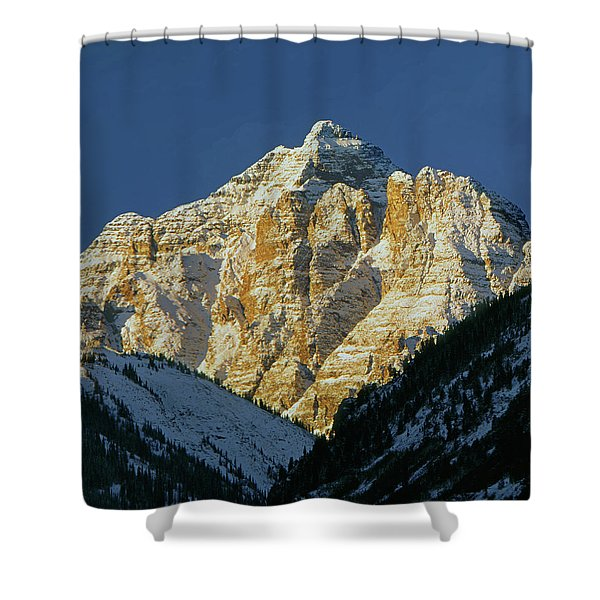 210418 Pyramid Peak Shower Curtain