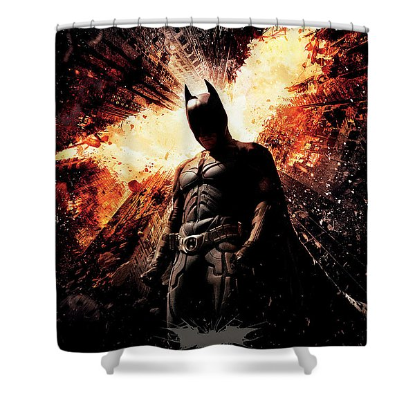 The Dark Knight Rises 2012  Shower Curtain