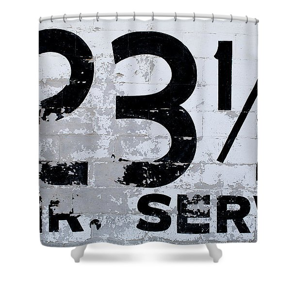 23 1/2 Hour Service Shower Curtain
