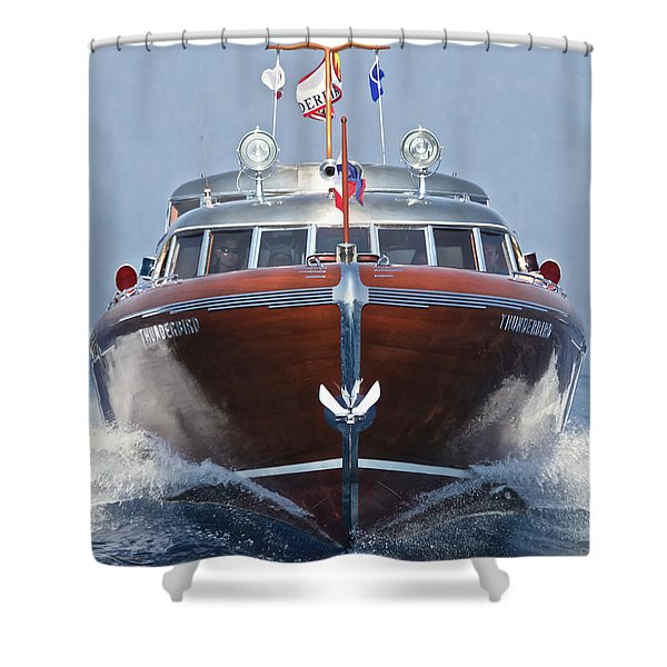 Thunderbird Shower Curtain