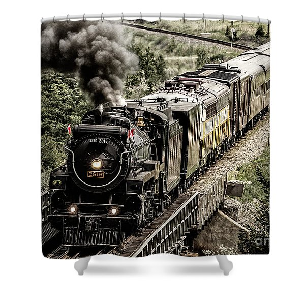 2816 Empress At Seebee Crossing Shower Curtain