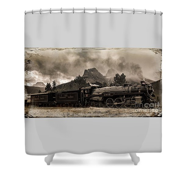 2816 Empress At Three Sisters - Canmore Shower Curtain