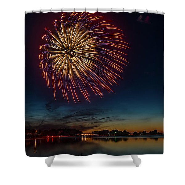 4th Of July Shower Curtain