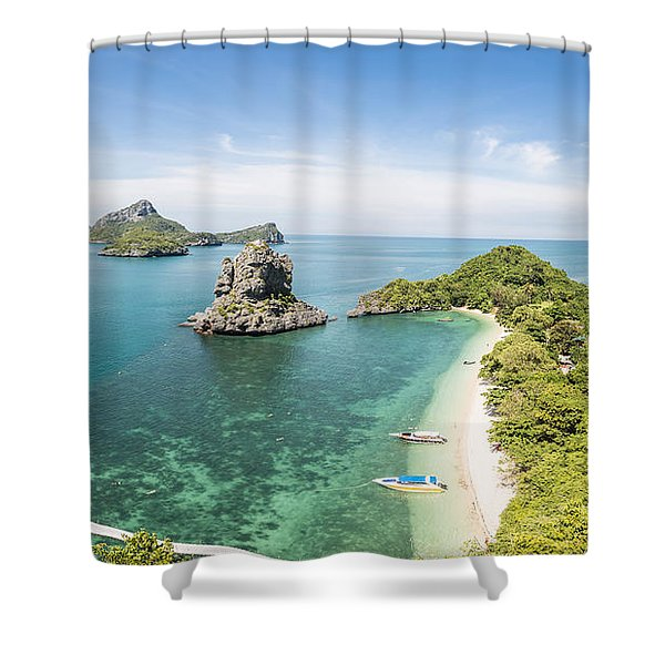 Ang Thong Marine National Park Shower Curtain