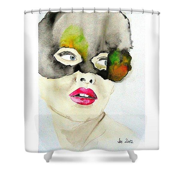 #art #illustration #drawing #draw Shower Curtain
