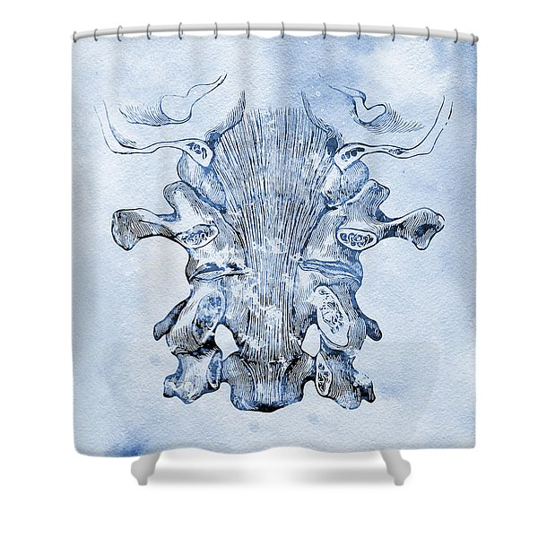 Cervical Ligaments X Shower Curtain