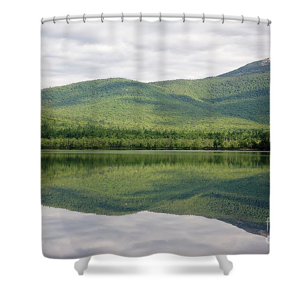 Shower Curtain featuring the photograph Chocorua Lake - Tamworth New Hampshire by Erin Paul Donovan
