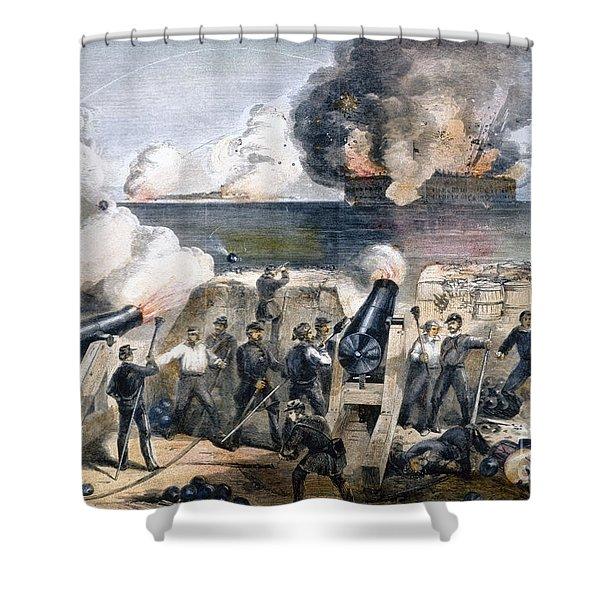 Civil War: Fort Sumter Shower Curtain