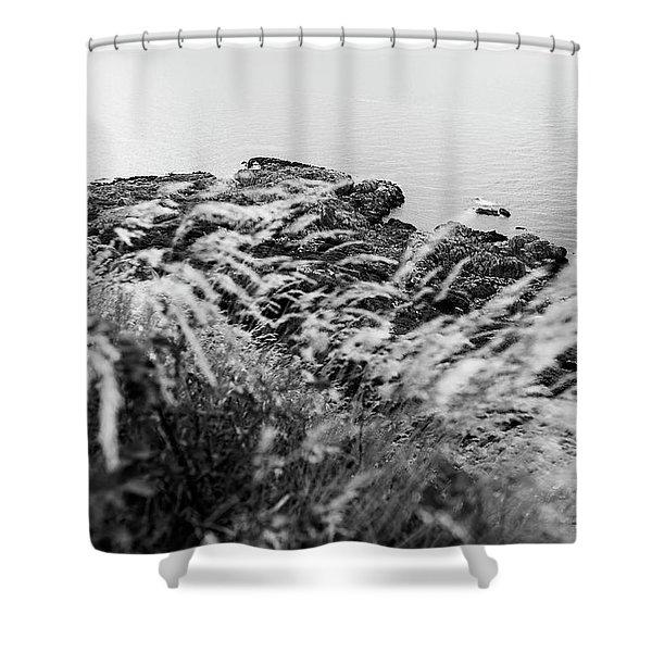 Cliffs At Kullaberg Shower Curtain