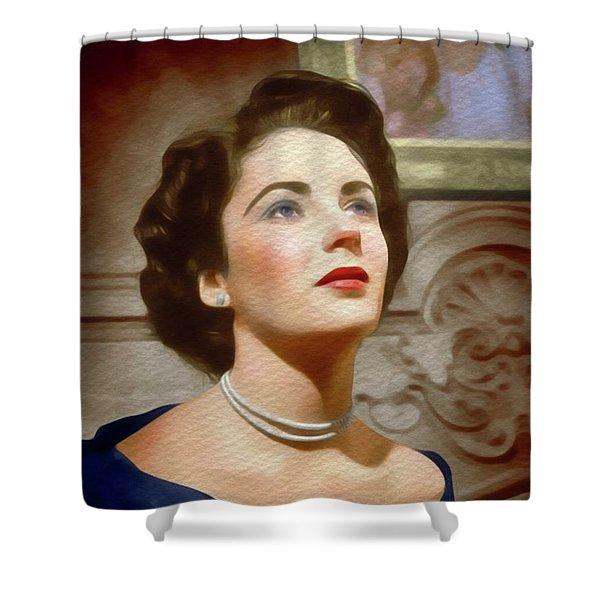 Elizabeth Taylor, Vintage Movie Star Shower Curtain