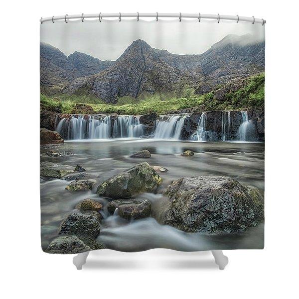 Fairy Pools - Isle Of Skye Shower Curtain