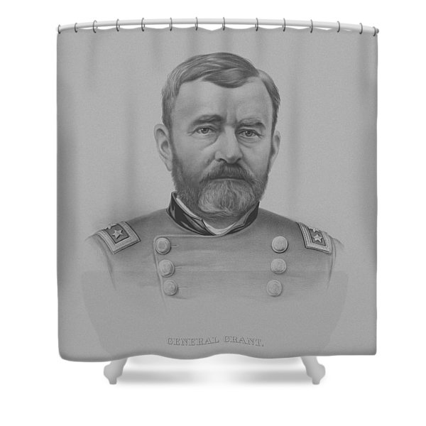 General Grant - Two Shower Curtain
