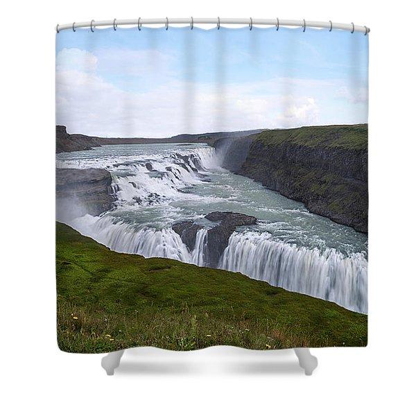 Gullfoss - Iceland Shower Curtain