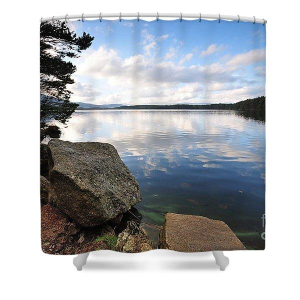 Loch Morlich Shower Curtain