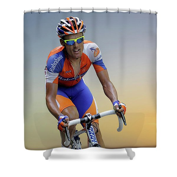 Luis Leon Sanchez 4 Shower Curtain