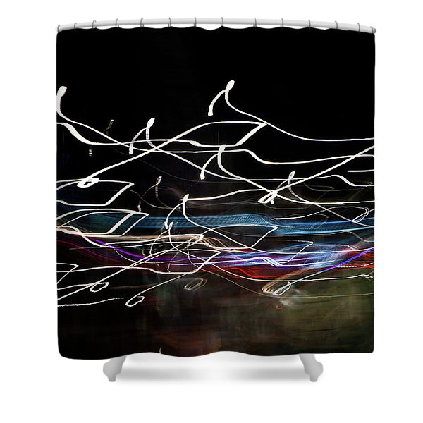 Magic Color Shower Curtain