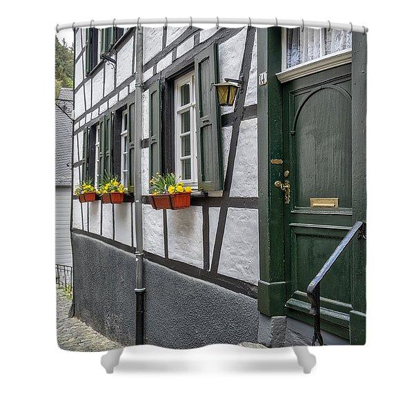 Monschau In Germany Shower Curtain