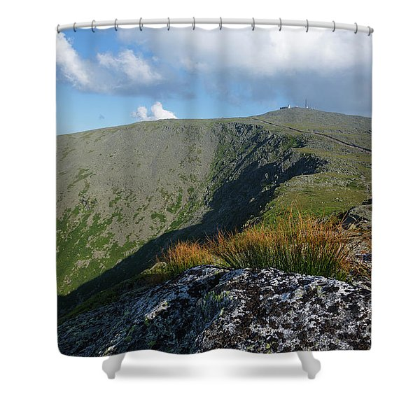 Shower Curtain featuring the photograph Mount Washington - New Hampshire White Mountains by Erin Paul Donovan