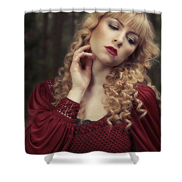 Pre-raphaelite Beauty Shower Curtain