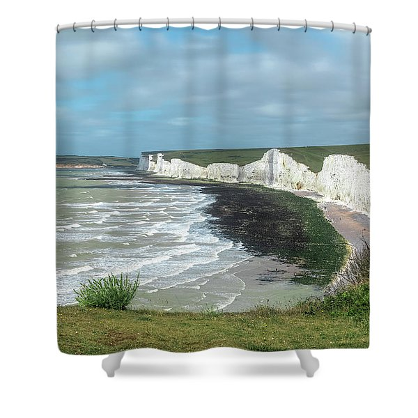 Seven Sisters - England Shower Curtain