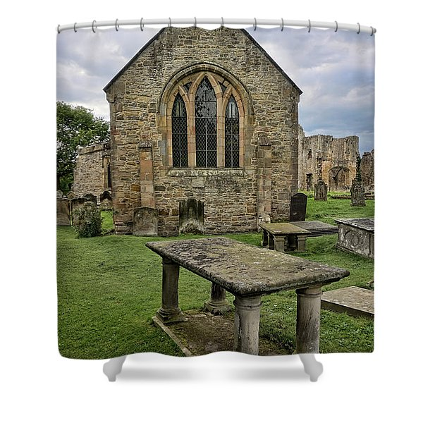 St Agathas Shower Curtain