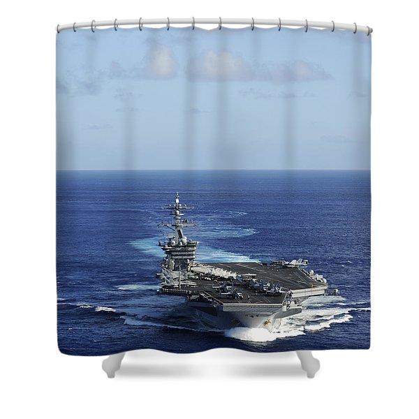 Uss Carl Vinson Shower Curtain