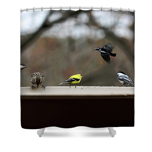 30 Seconds Shower Curtain