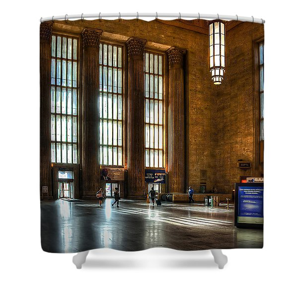 30th Street Station Shower Curtain