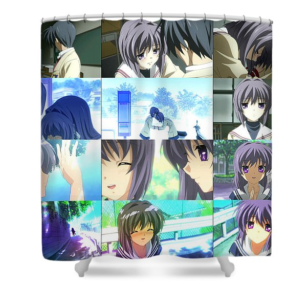 Clannad Shower Curtain