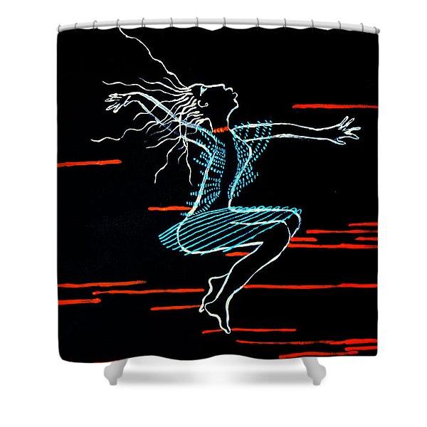Dinka Dance - South Sudan Shower Curtain