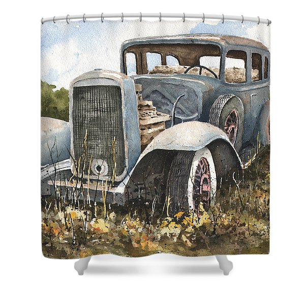 32 Buick Shower Curtain